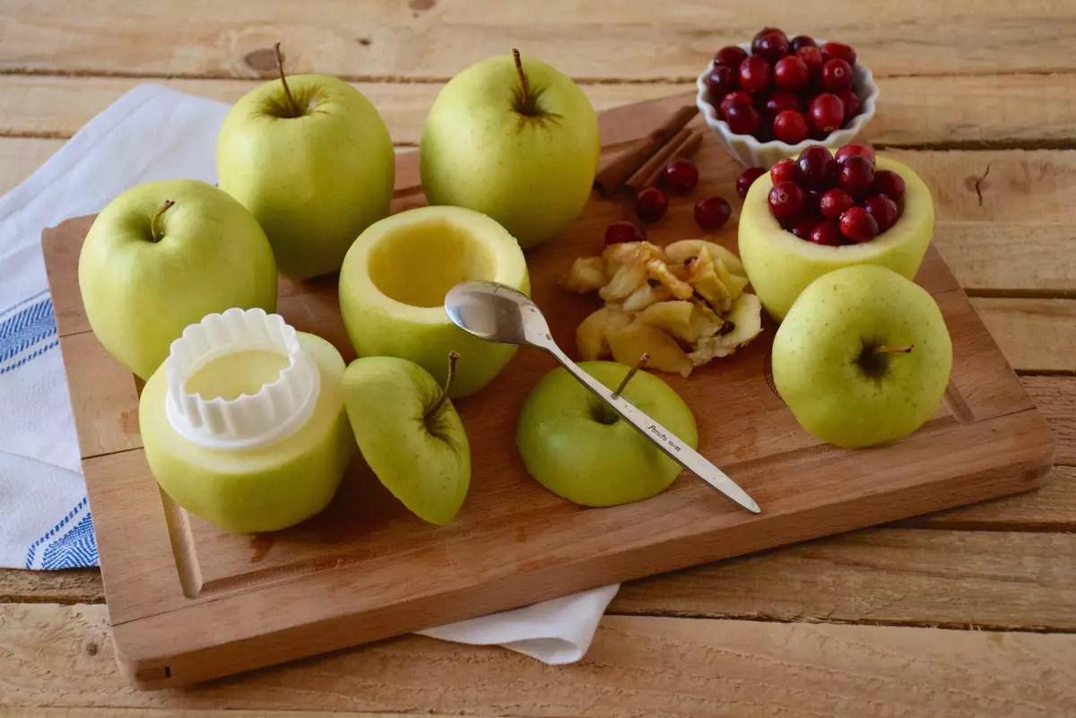 Pommes aux airelles