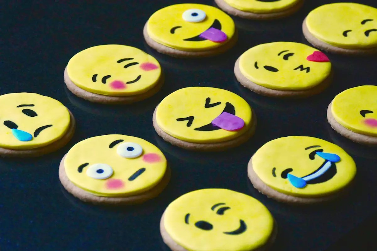Biscuits emoticones
