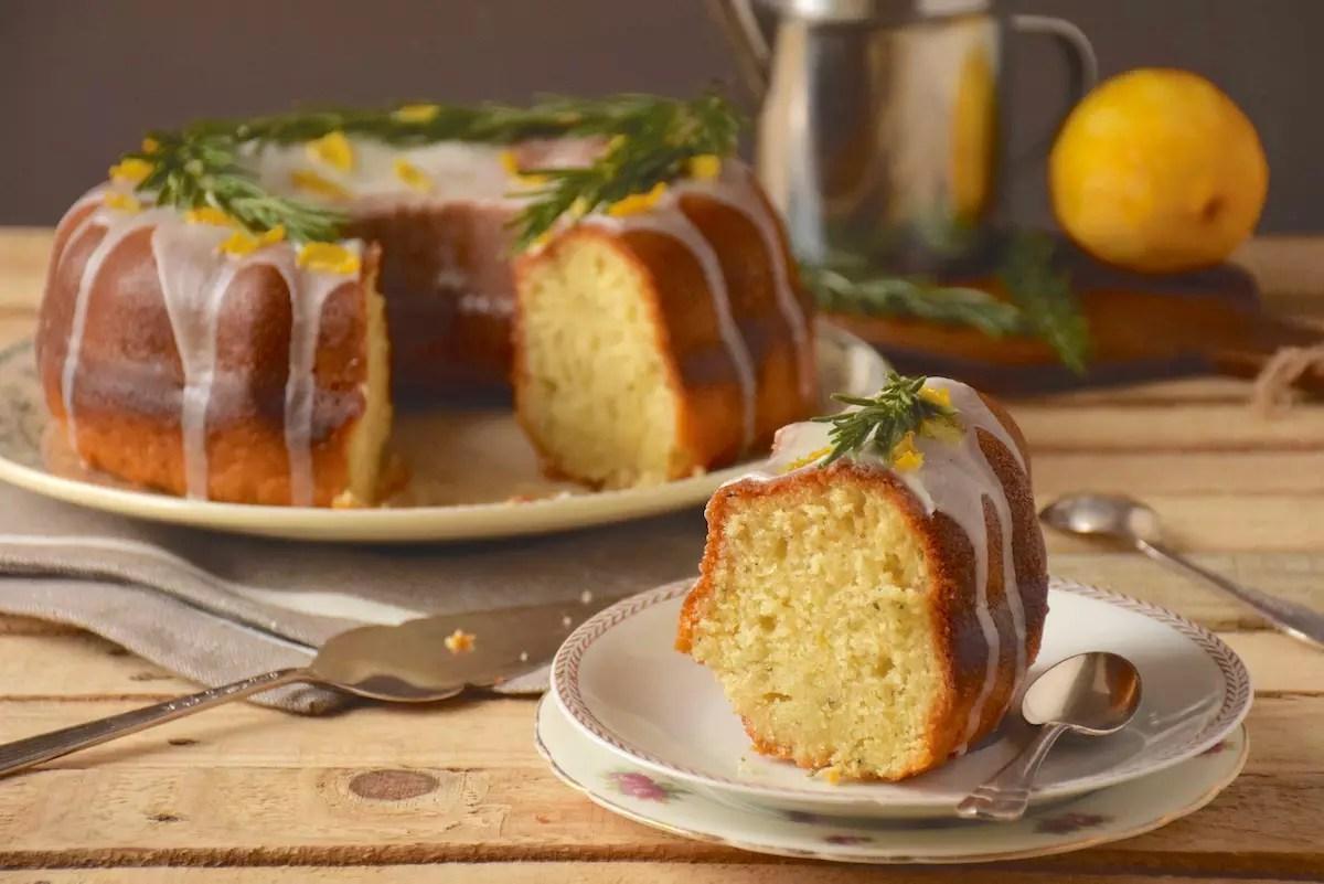 Gateau citron huile d'olive