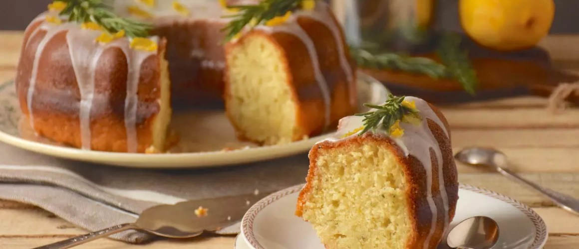 Du peps! – Bundt cake citron huile d'olive romarin