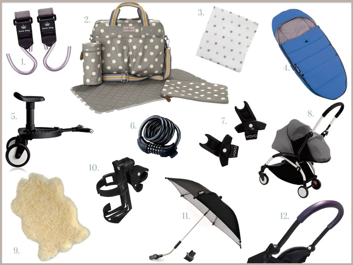 Accessoires Yoyo Planche shopping indispensable poussette Yoyo+