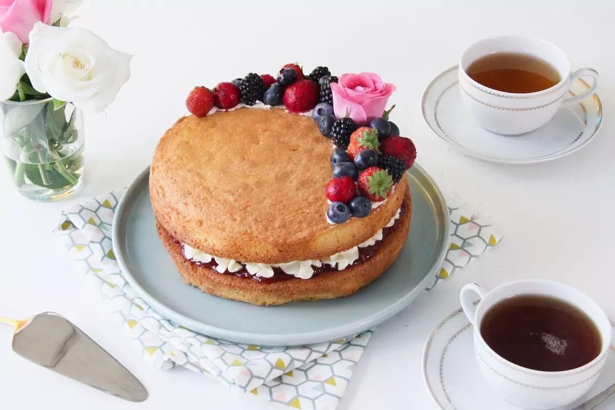 Recette Sponge Cake Mercotte