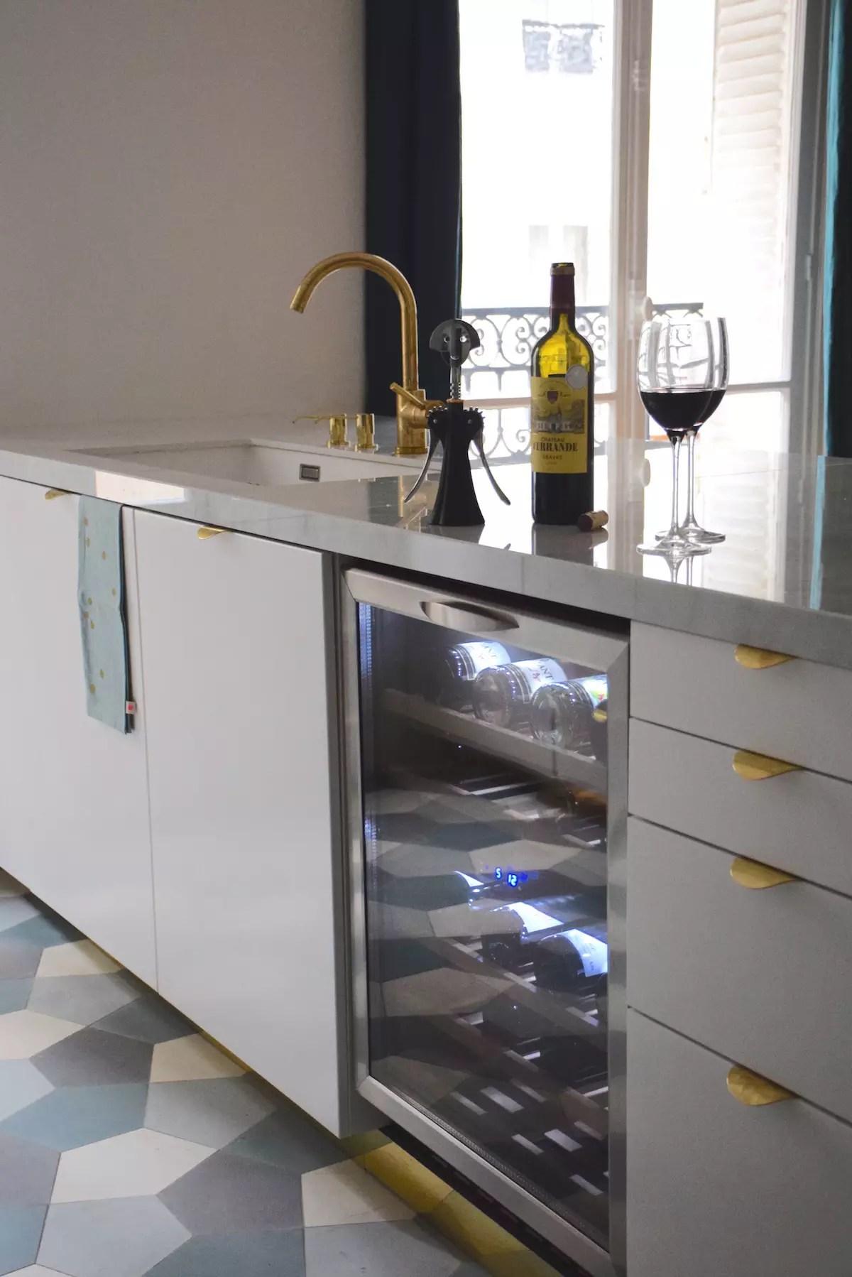 Intégrer une cave à vin dans sa cuisine