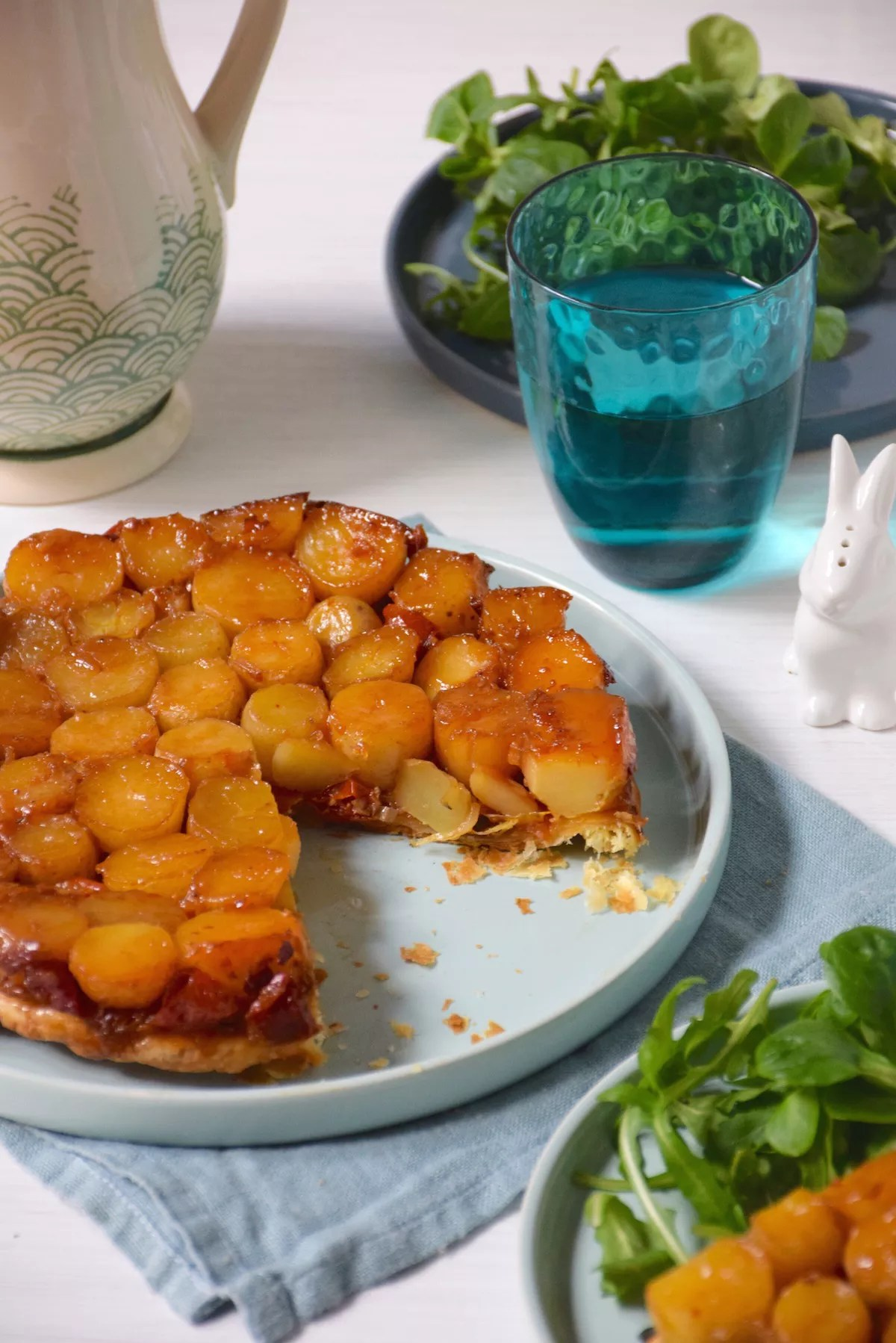 Ottolenghi Surprise tatin (made with baby potatoes)