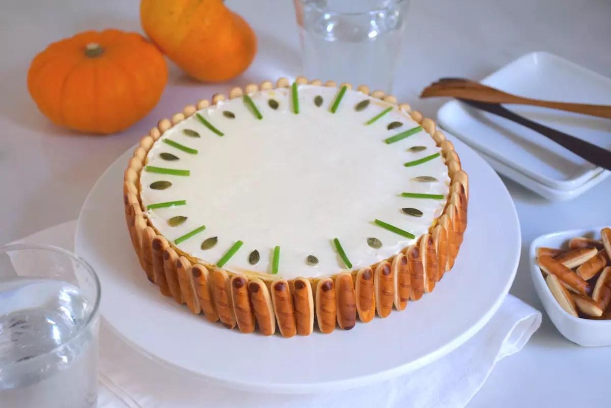 Cheesecake salé au potiron
