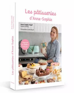 Livre Les Pâtisseries d'Anne-Sophie Vidal