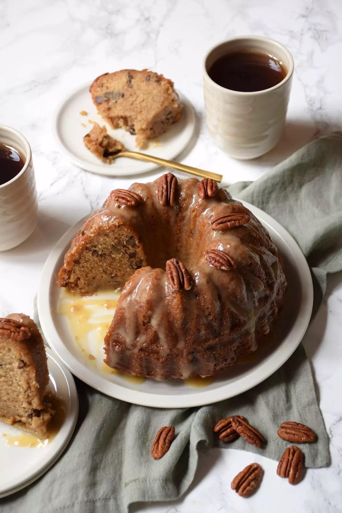 undt Cake au sirop d'érable & noix de pécan