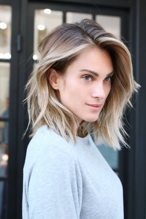 40 Easy Shoulder Length Hairstyles for Women in 2018