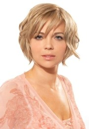 short hairstyles fat faces