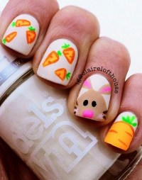 40 Easter Nail Art Designs and Ideas 2018 - Fashiondioxide