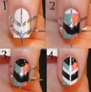 amazing diy nail art design