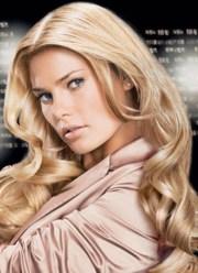 glamorous blonde hair