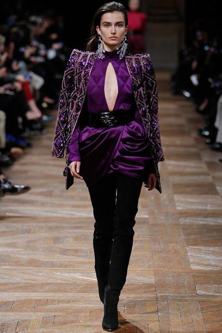 BALMAIN Fall Winter 2013/2014   Paris Fashion Week