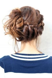 hair bun models ideas