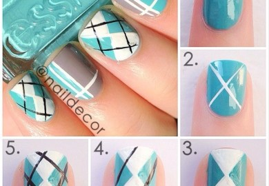 Step By Step Nail Art Tutorials Fashion Diva Design