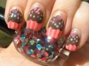 cute cupcake nail art tutorials