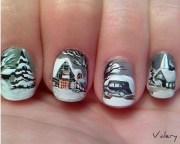 winter nail arts