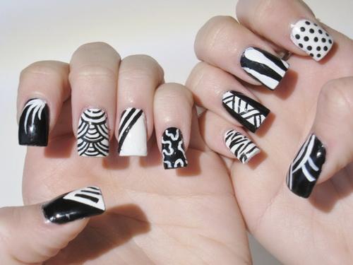 Cute Gel Nail Design Awesome