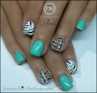 Gelnails Leopard Deseign | Joy Studio Design Gallery ...