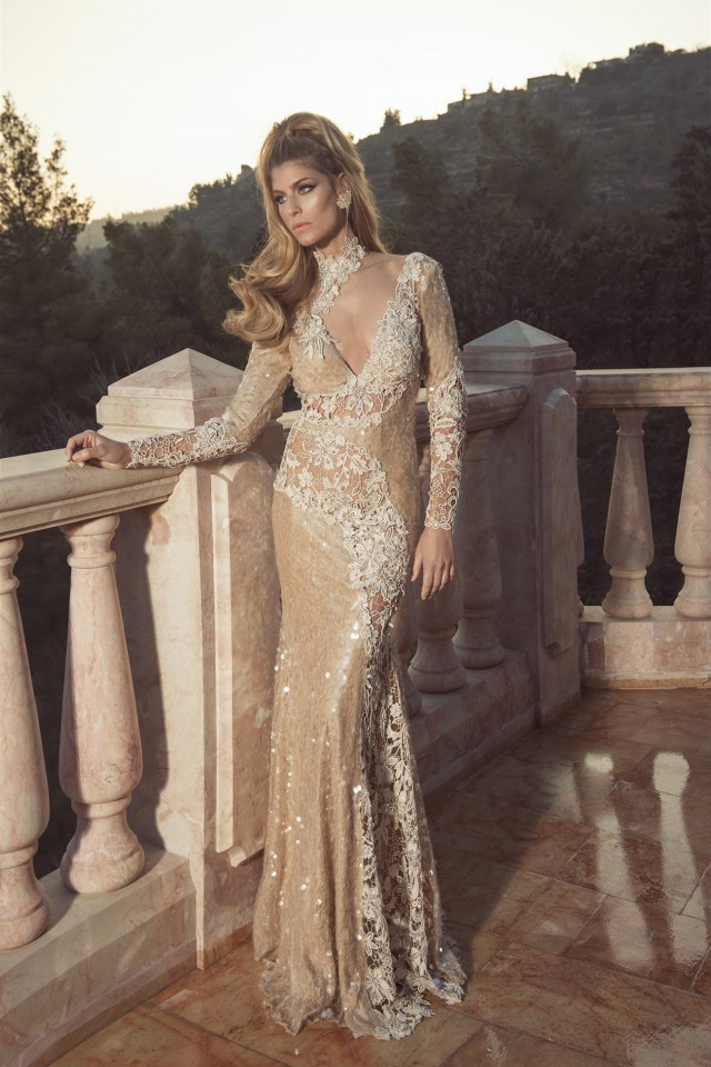Glamorous Evening Dresses by Oved Cohen