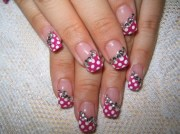 amazing gel nail design