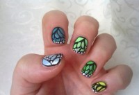 16 Butterfly Nail Designs