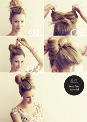 make bow hairstyle