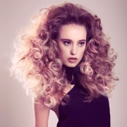 pretty hairstyles with voluminous