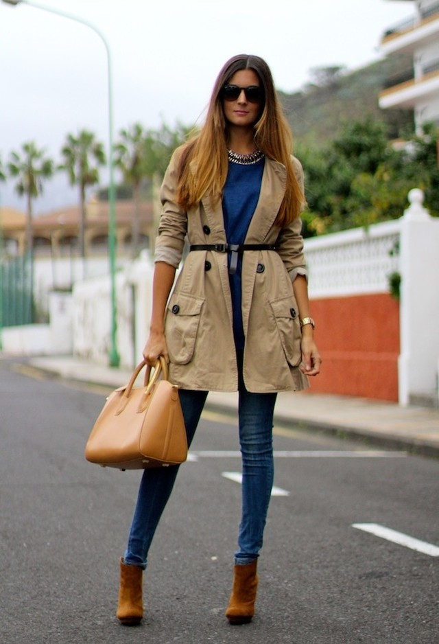 The Trench Coats Are A Style Classic