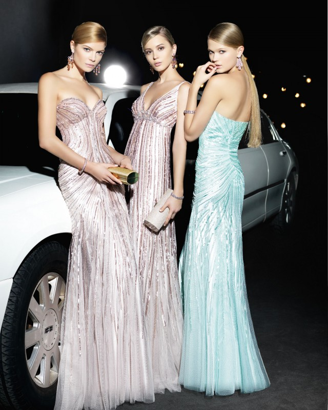 Two Cocktail Dresses by Rosa Clara Collection 2014