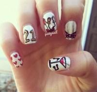 Happy Birthday Nail Art Designs