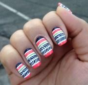 insanely pretty tribal nail