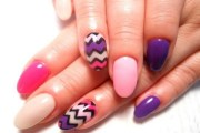 outstanding oval shape nail