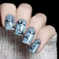 Let It Snow On Your Nails