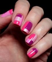 fantastic diy color block nail