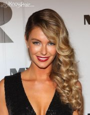 lovely side swept hairstyles