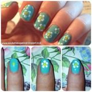 floral nail tutorials