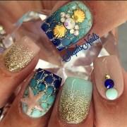 amazing ocean inspired nail art