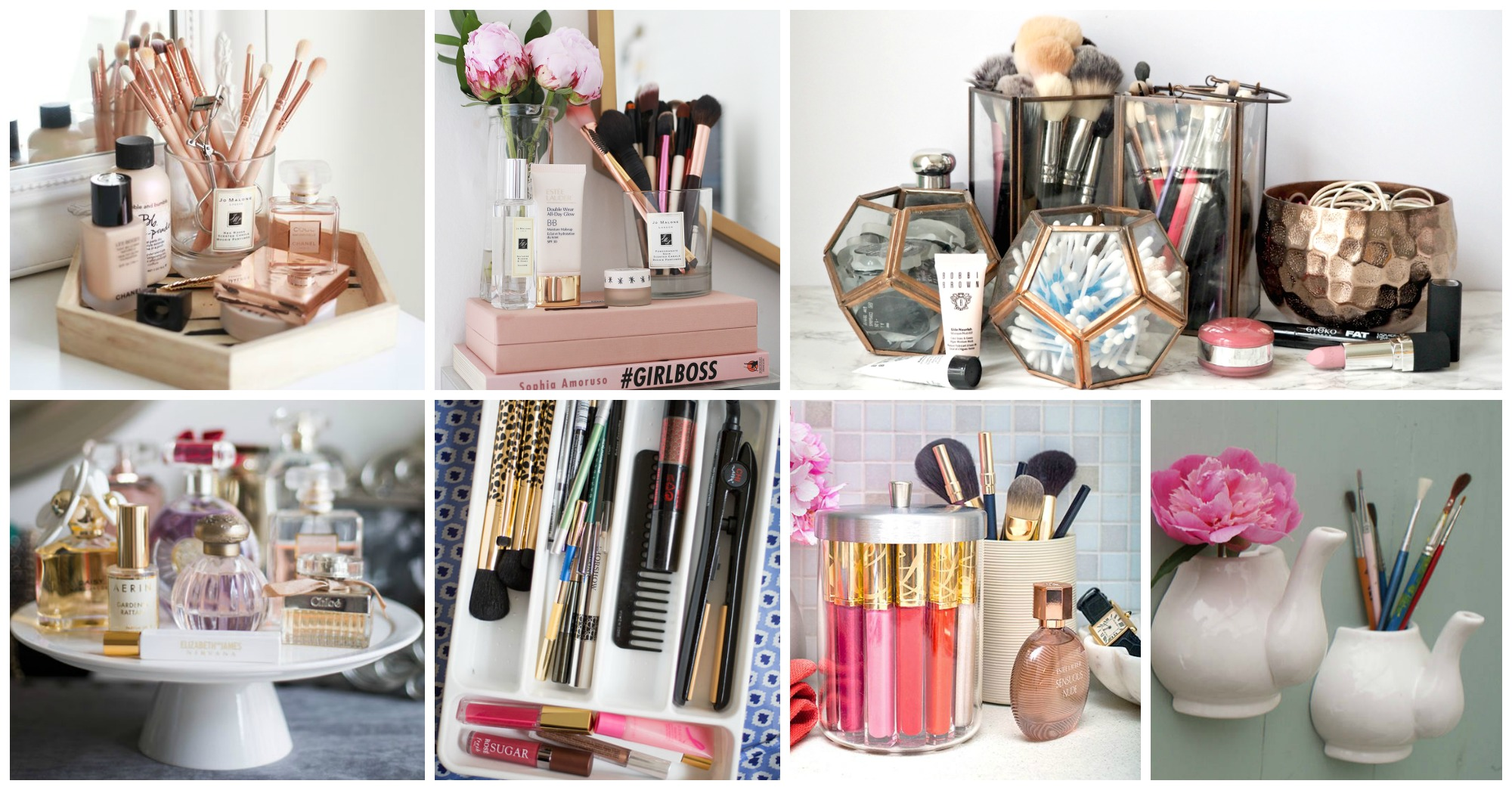 10 Awesome Makeup Storage Solutions You Have To See