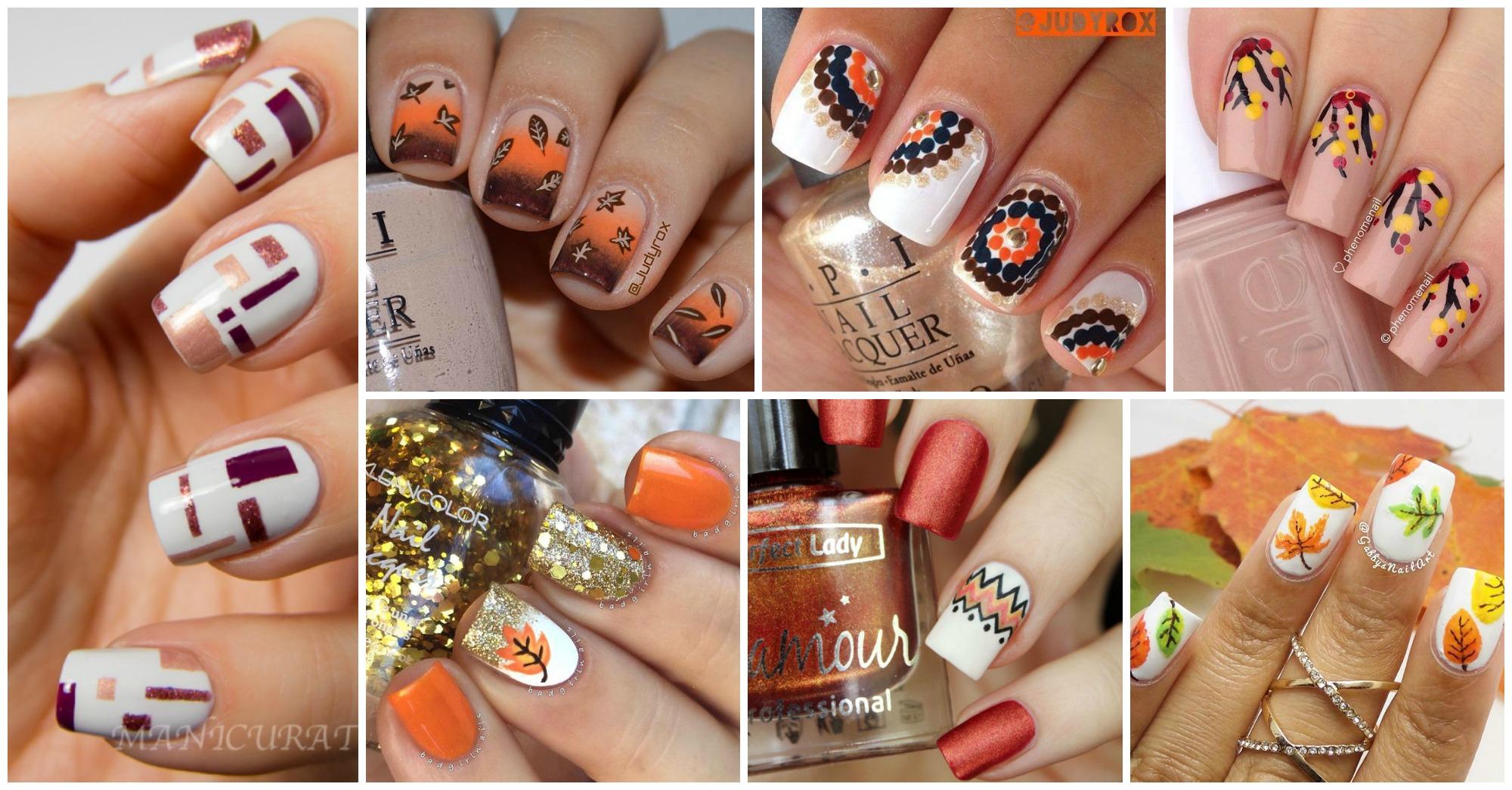 Cute Nail Designs For Fall 2016