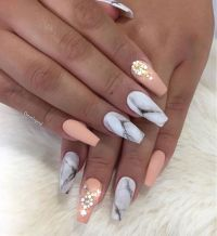 Fabulous Marble Nails You Need to See