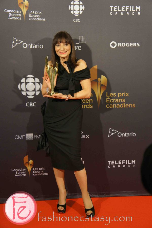 Jeanne Beker wearing Chanel