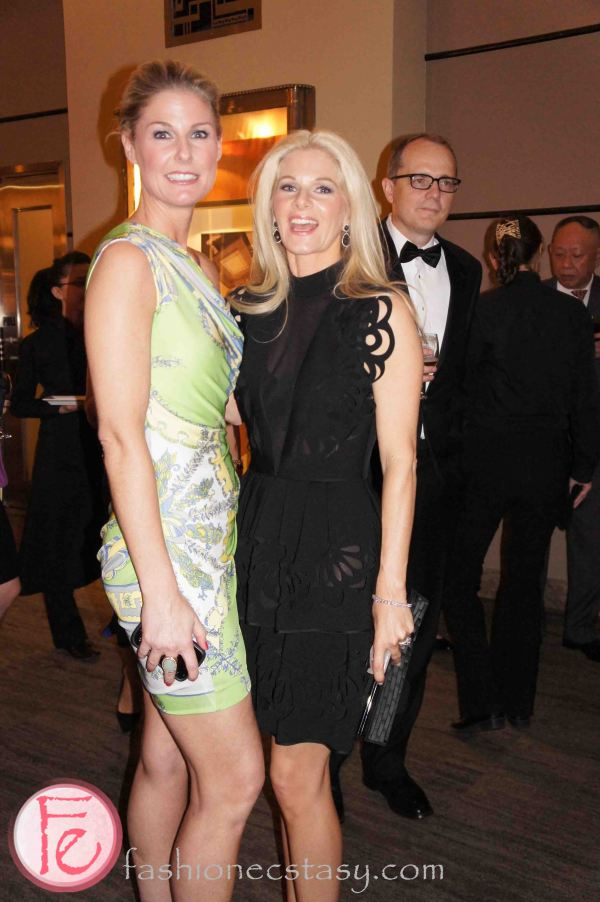 Havergal Gala 2013 - Urban Elegance - wearing: Pucci (left), Jasmine De Milo (right)