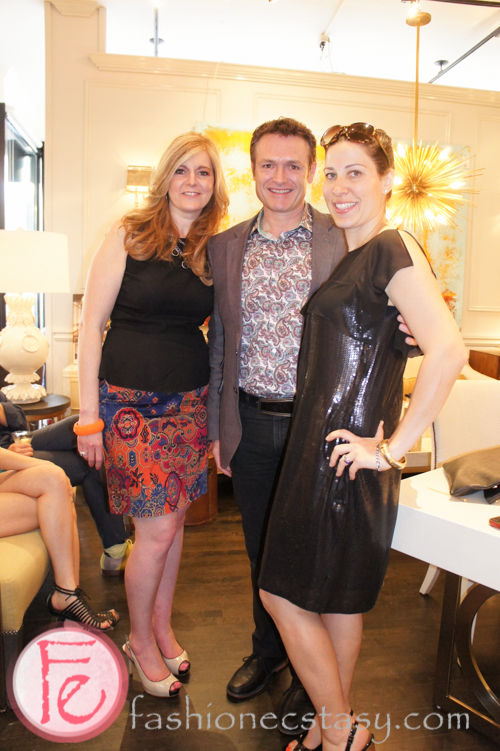 Sharyn Smith, celebrity interior designer Glen Peloso, Taylor Kaye (KiSS 92.5)