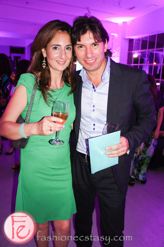 Cristiano de Florentiis (Co-founder, Artistic Director) and his wife