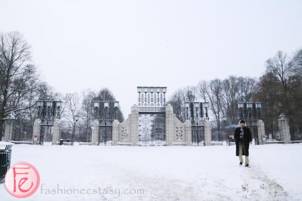 Vigeland Park gate