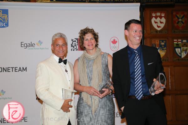 Olympians Greg Louganis, Marnie McBean, Mark Tewksbury bonham centre awards gala