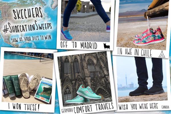 Skechers Shoecation Instagram contest