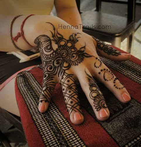 Arabic Finger Mehndi Designs 2017 New Style