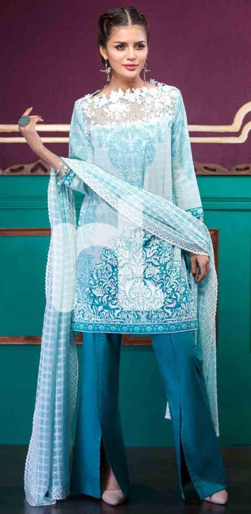 Nishat Linen Eid Dresses For Girls 16 FashionEven